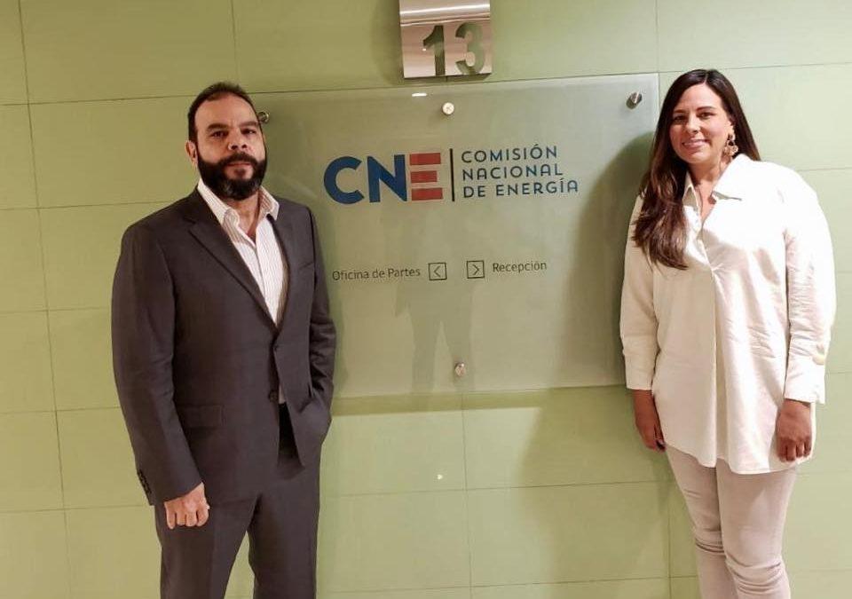 PrimeStone en La Comisión Nacional de Energía en Chile
